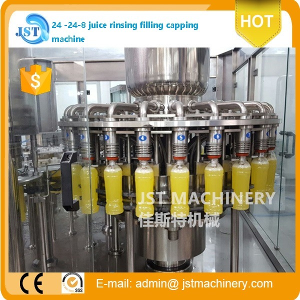 Automatic Fresh Juice Filling Production Line for Plastic Bottle