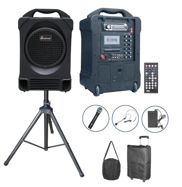 Portable Wireless PA Amplifier Speaker System