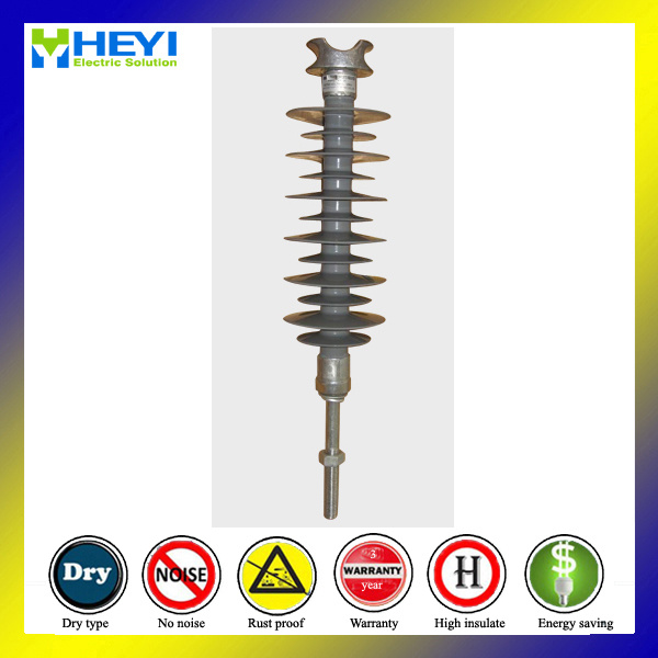 33kv 8knlong Bolt Railway Polymer Pin Composite Insulator