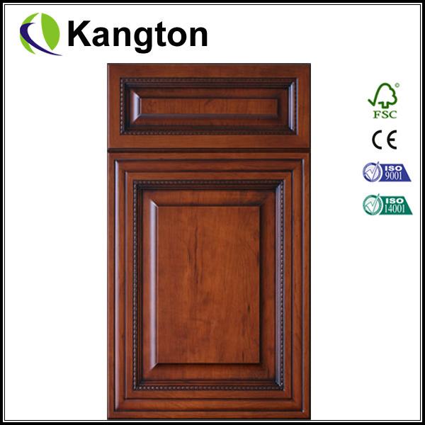 Natural European Oak Veneer Kitchen Cabinets (cabinet door)