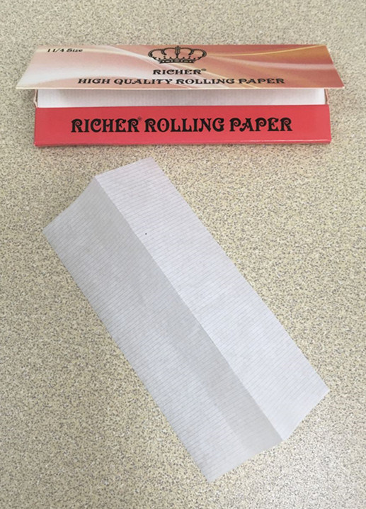 OEM Brand /Richer Brand King Size Slim +Tips Rolling Paper
