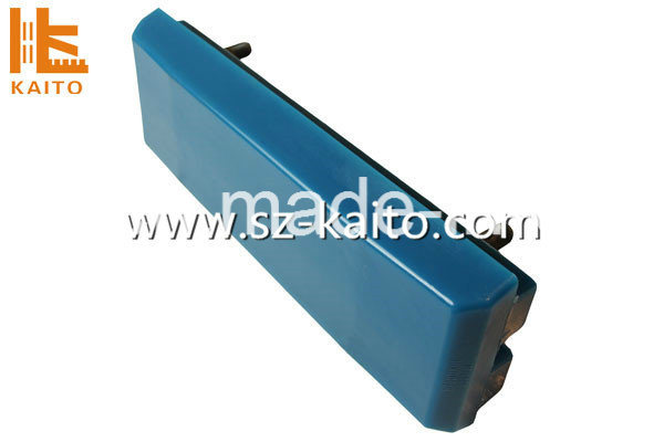 Blue Poly Track Pads for Wirtgen Milling Machine W2000