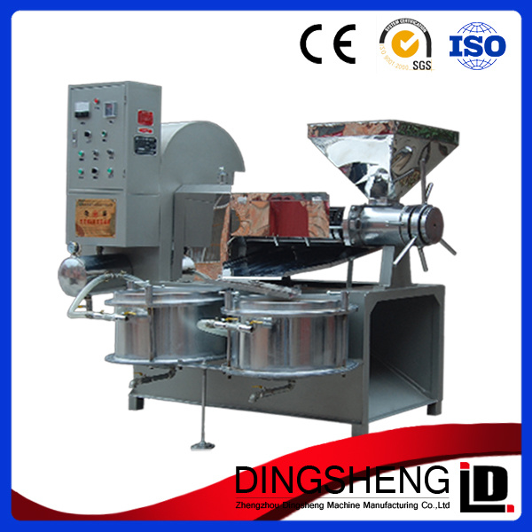 Automatic Sunflower Seed Oil Extraction Machine