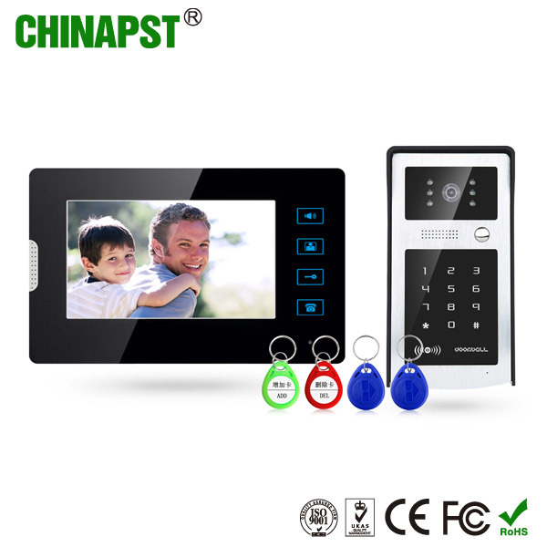 High Quality Multi Apartment Video Door Phone Intercom System (PST-VD07T-IDS)