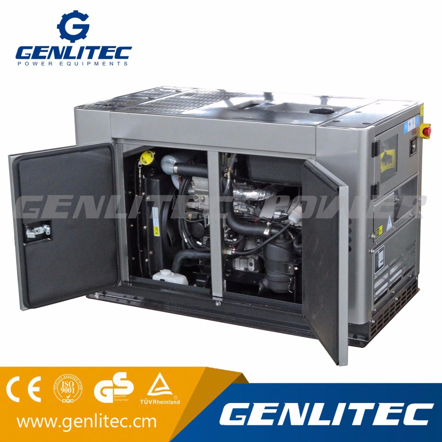 China Portable 10kVA Super Silent Diesel Generator with Changchai