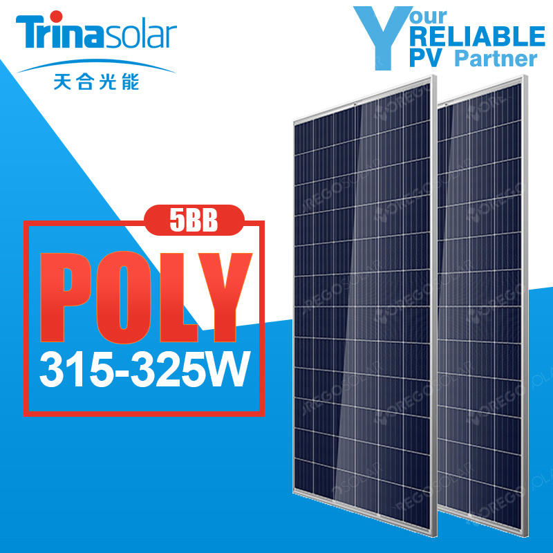 Trina PV Solar Product 315W-325W for Solar Panel System