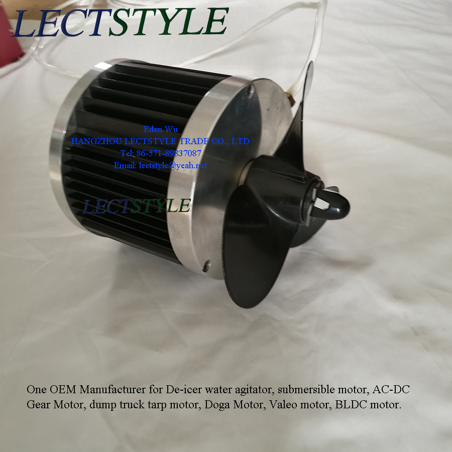 120V-240V 1HP 1.5HP Electrical Submersible BLDC Motor on De-Icer Water Agitator