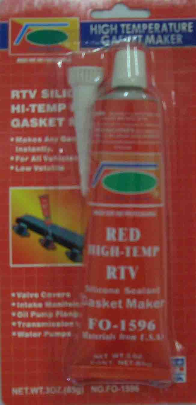 High Heat Caulking : Silicone sealant high temp