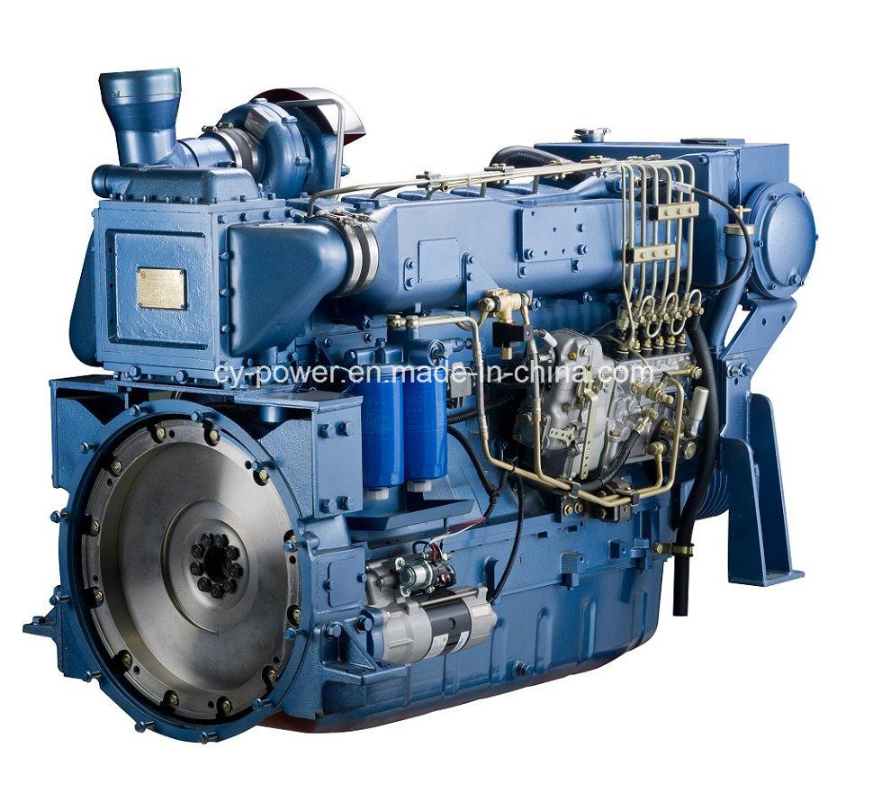 Wd615/Wd10 Series Marine Engine, 176-240kw, Weichai