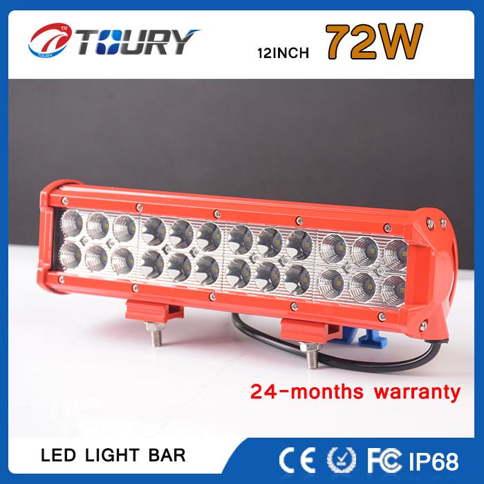 CREE 72W Auto Work Lamp Double Row LED Light Bar