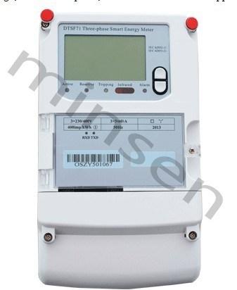 Three-Phase Smart Energy Meter