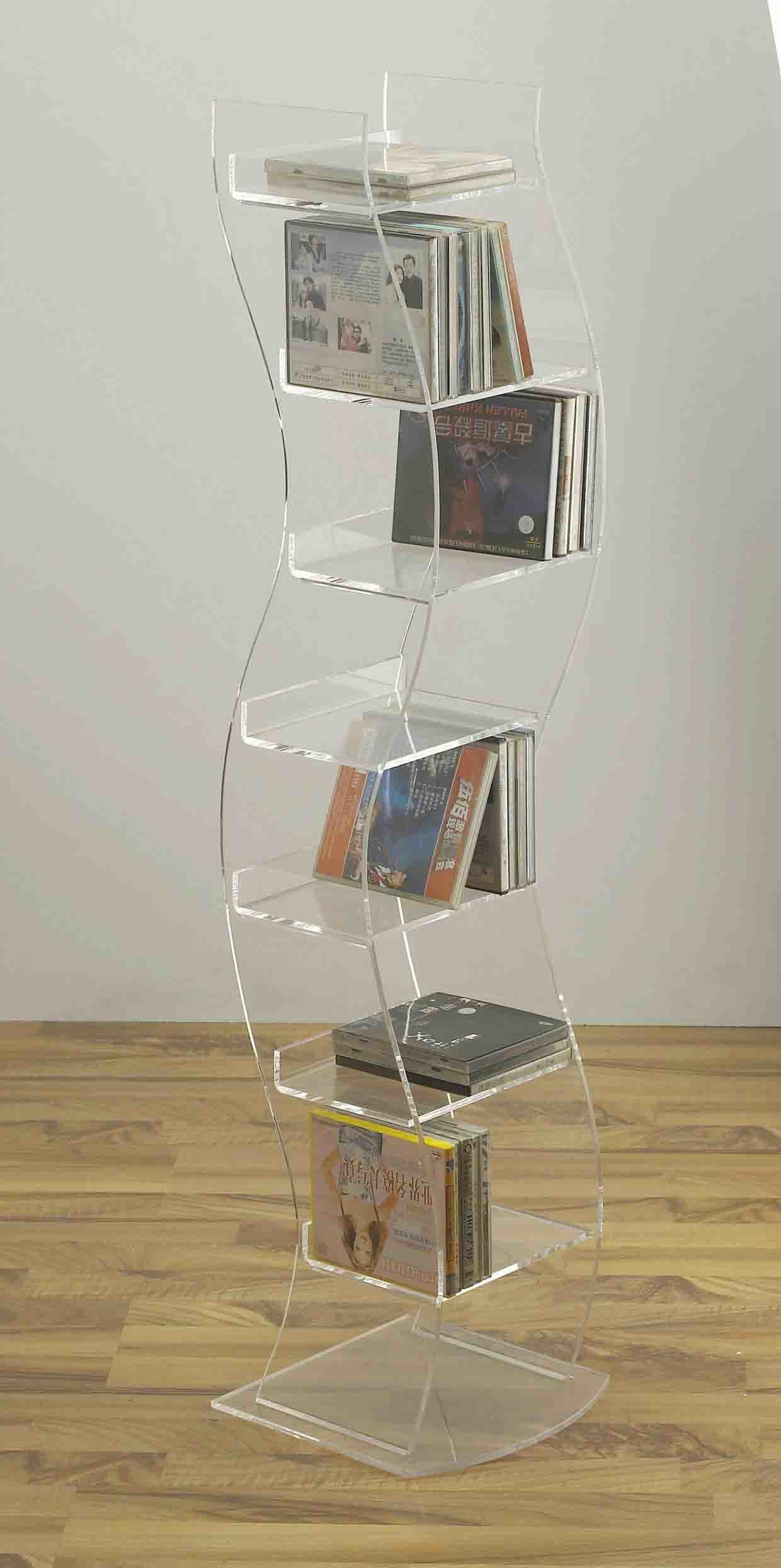 China Acrylic Floor Standing CD Rack(FAY-A05) - China CD ...