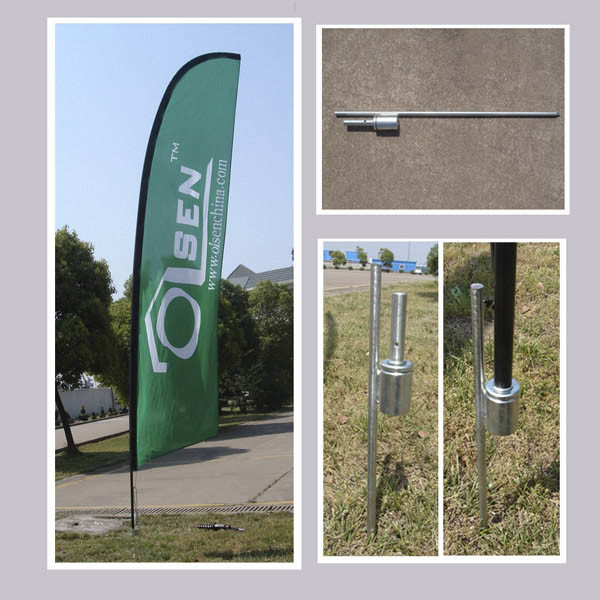 Base For Outdoor Banner (OS-G2)