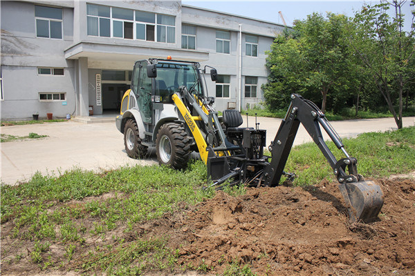 Backhoe Attachment for Mini Loader Skid Steer Loader Tractor
