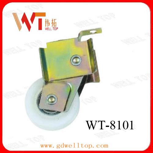 Plating Zinc Metal, Single Pulley, Door and Window Pulley (WT-8101)