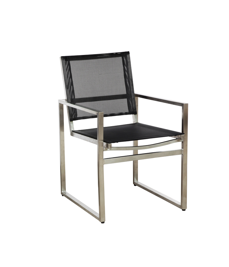 China Stainless Steel Chair Graden Chair Ac009st China Chair Stainless Steel Chair