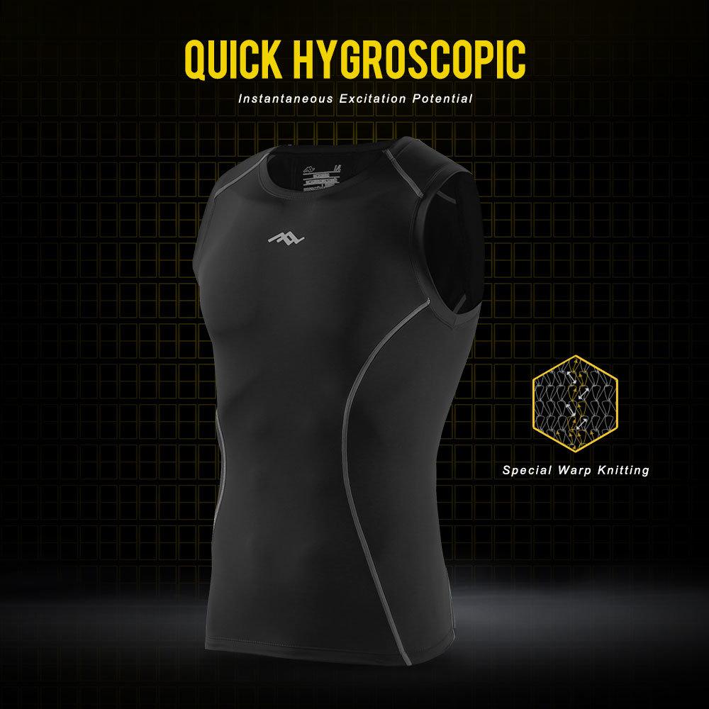 Men′s Sport Shirt Gym Tank Top Fitness Stringer for Athletic
