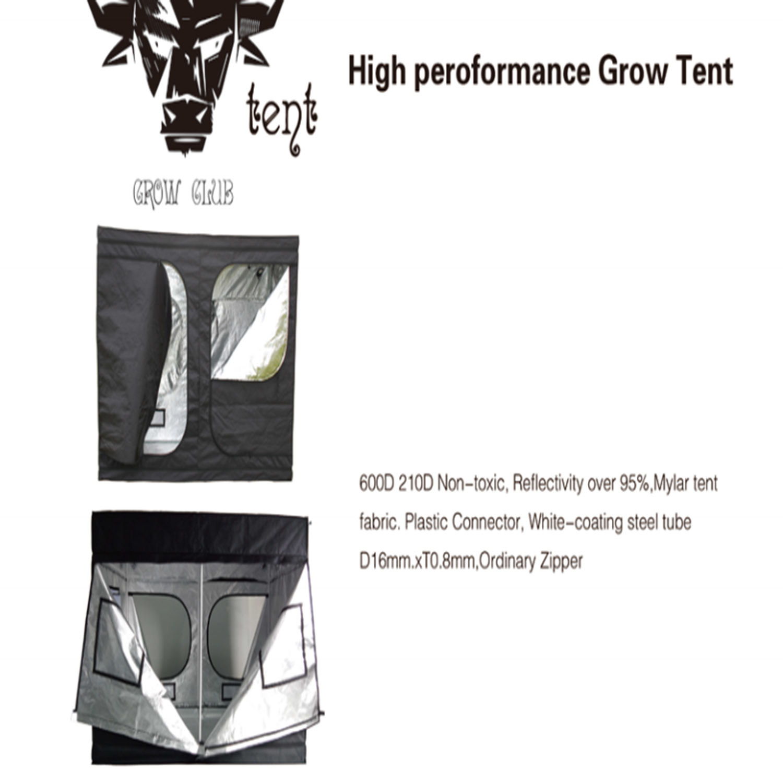 Good Density High Quality Grow Club Tent