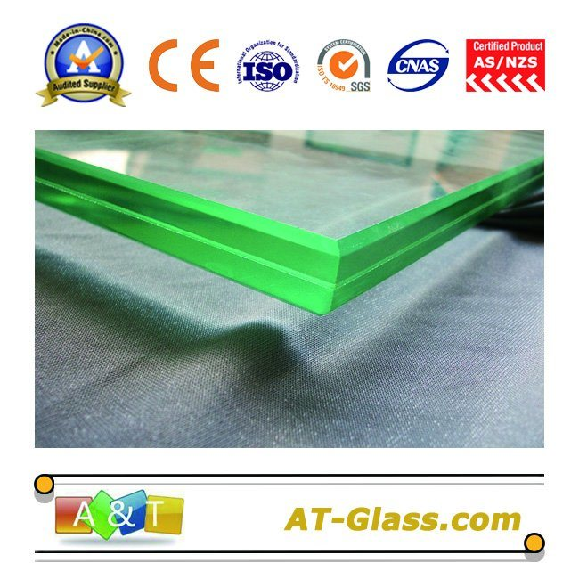 3-12mm Tempered/Toughened Laminated Glass for Window