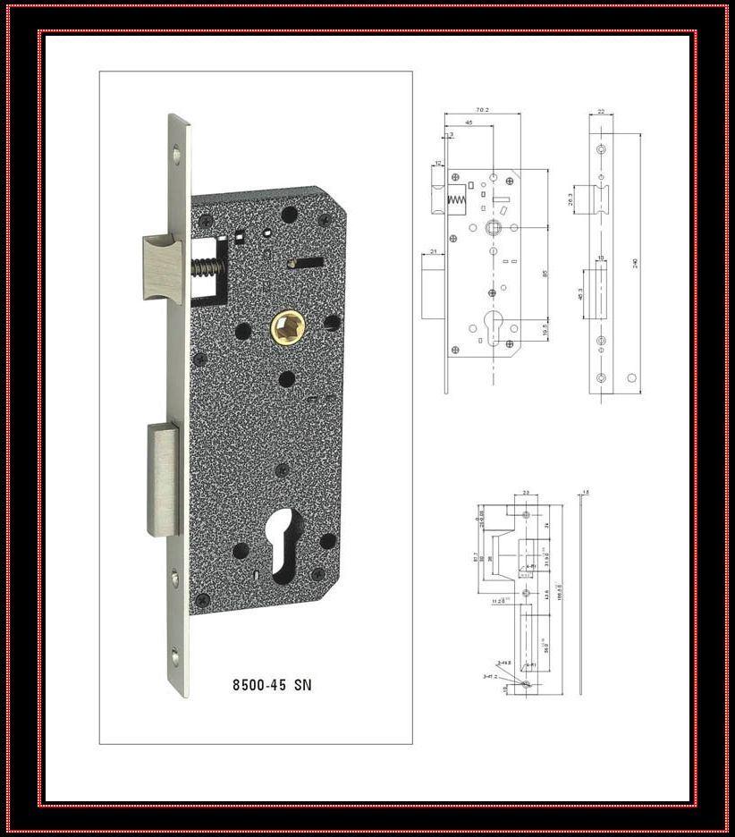 China mortise lock body china mortise door lock body narrow mortise