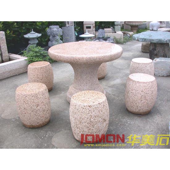 Muebles del jard n del granito vector de piedra xmj gt03 - Muebles de piedra ...