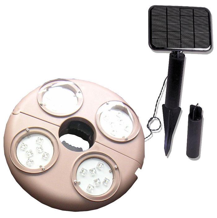 Folding Umbrella with 2-Mode 6-LED Flashlight Handle (2 x CR2032