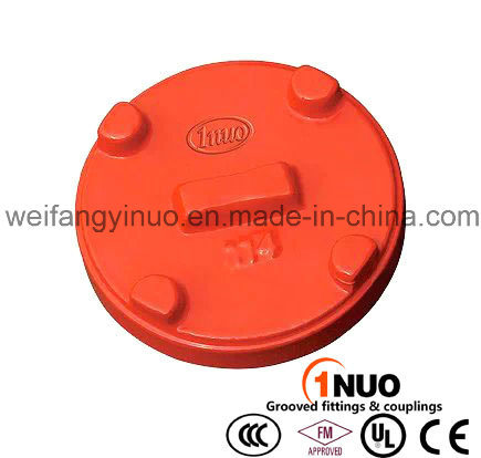 Ductile Iron Grooved Fittings End Cap with FM/UL/Ce Certified