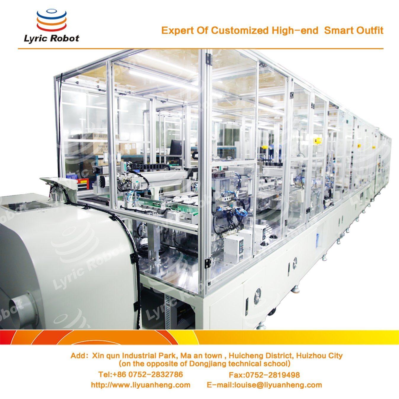 Smoke Detector Automation Assembly Machine