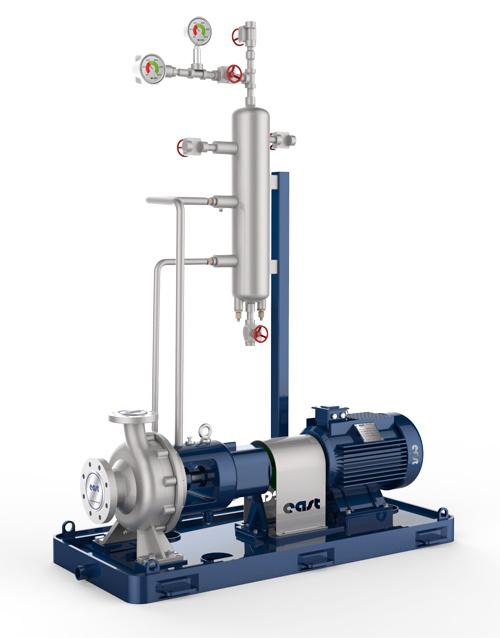API610 Horizontal Overhung Process Pump