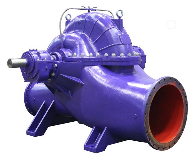 High Efficiency Double Suction Pump Split Case Water Pump 2017