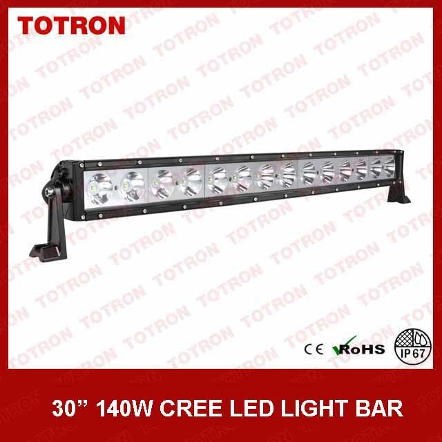 Good Quality! Totron 30 Inch Single Row CREE LED Light Bar for Jeep