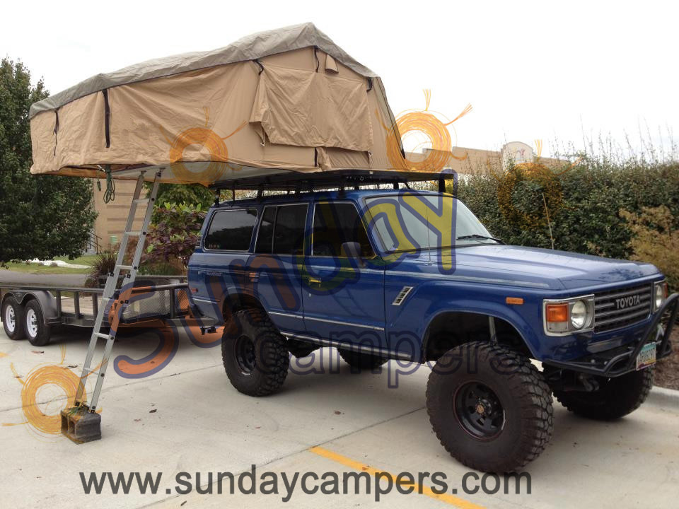 Awesome  1MROOFTOPTENTCAMPERWithSUNROOFTRAILER4WD4X4CAMPINGROOFTOP