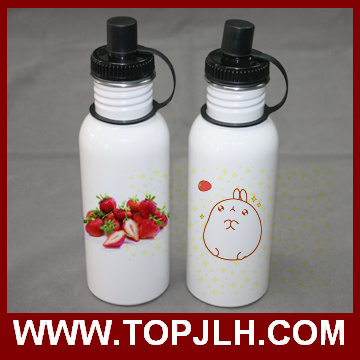 600ml Stainless Steel Sport Canteen Water Bottle