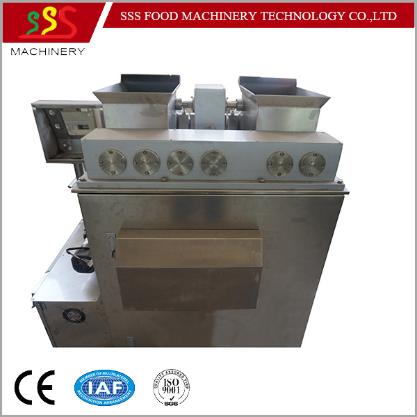 High Output Automatic Encrusting Machine Stuffing Machine Pancake Pastry Making Machine Manufacturer