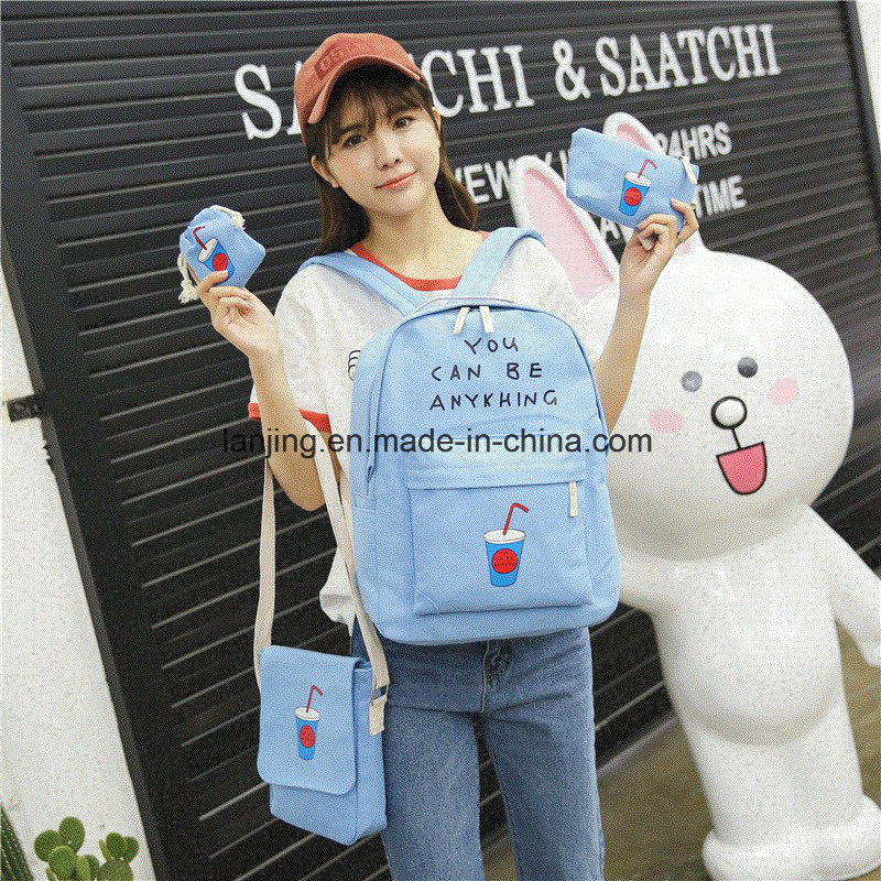 Bw1-058 600d/1200d/1800d Fashion Backpack Bag for School Bag Backpack Sets