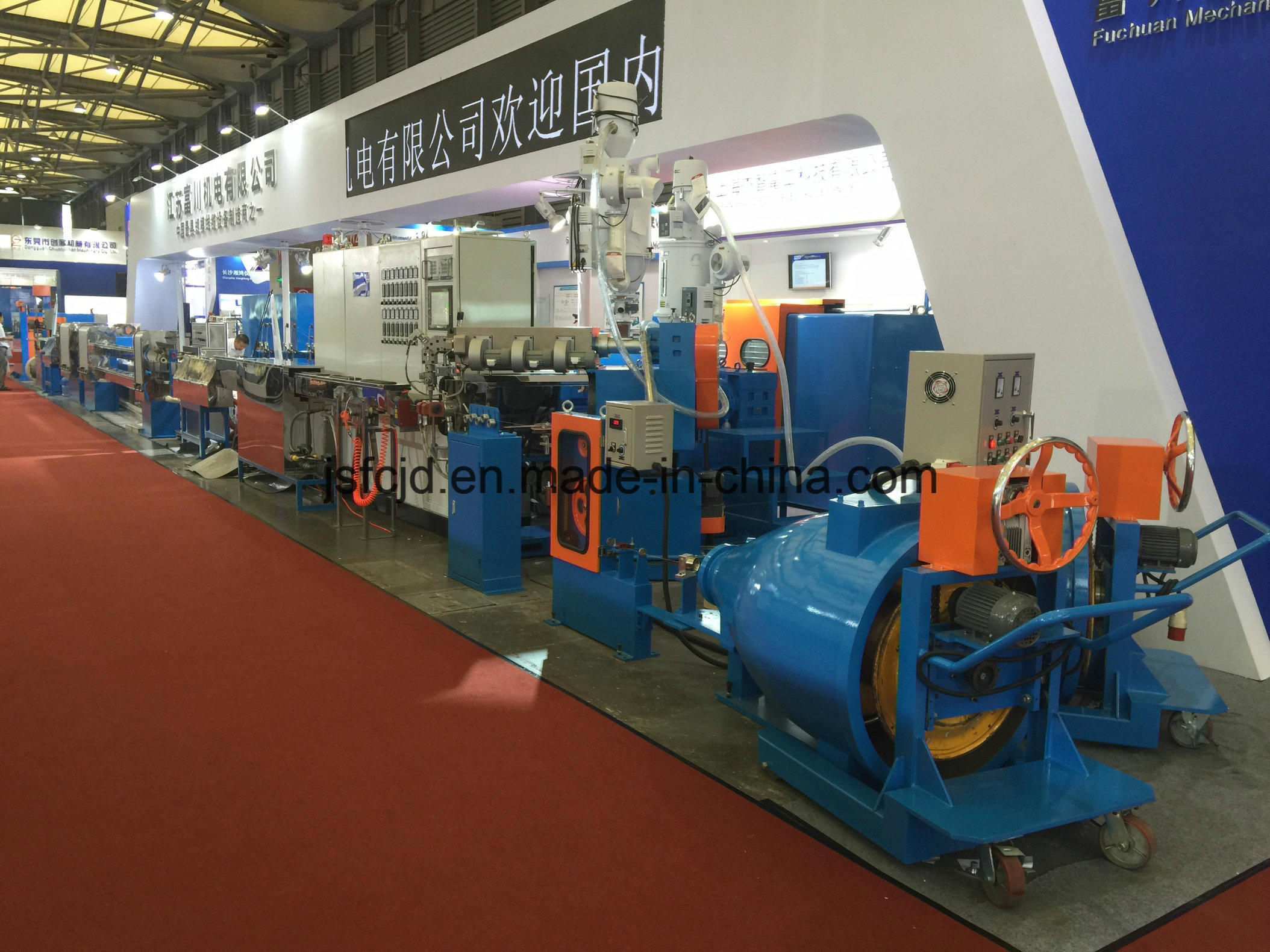 Plastic Cable Wire, PP, PE, PVC Extrusion Machine