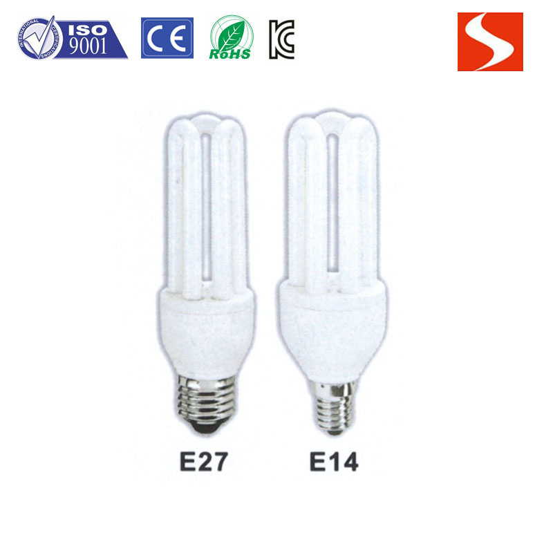 3u 25W Energy Saving Lamp, Compact Fluorescent Lamp CFL Bulbs