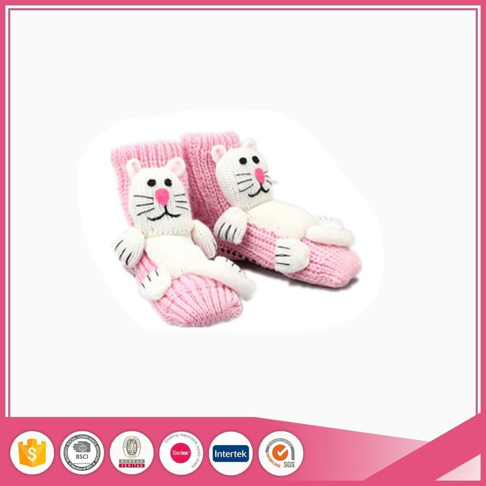 Animal Head Sock Slipper Shoes for Baby