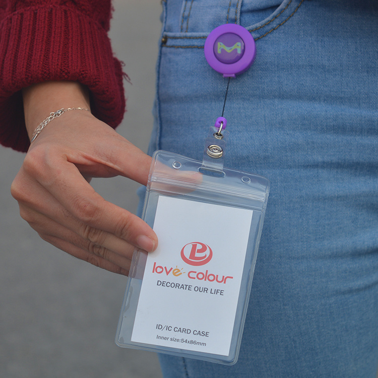 Factory Designer Retractable Badge Reels for Lanyard