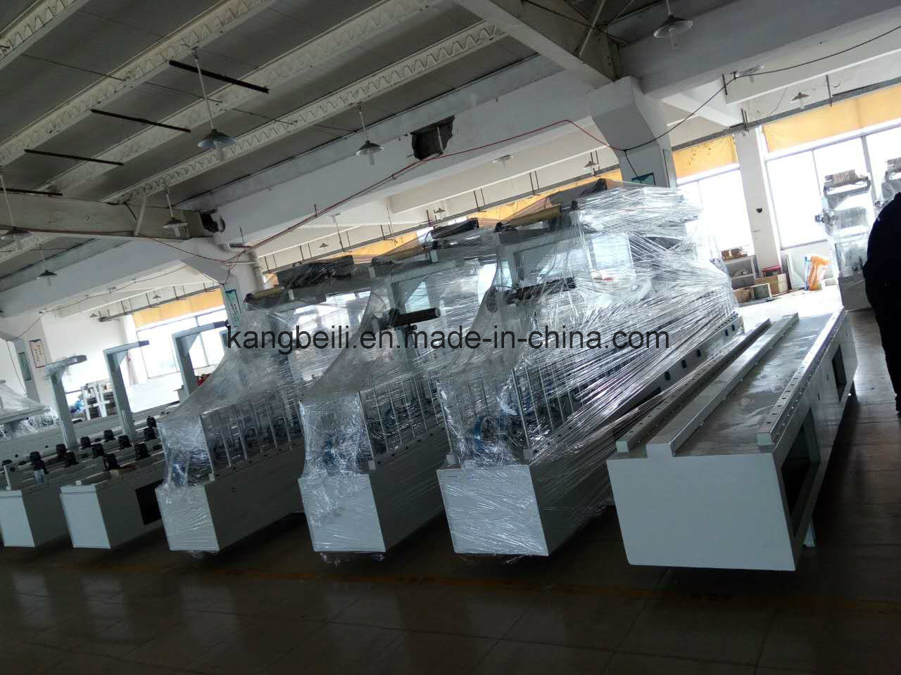Cold Adhesive Furniture Decorative TUV Certificated Mingde Brand Woodworking Wrapping Machine
