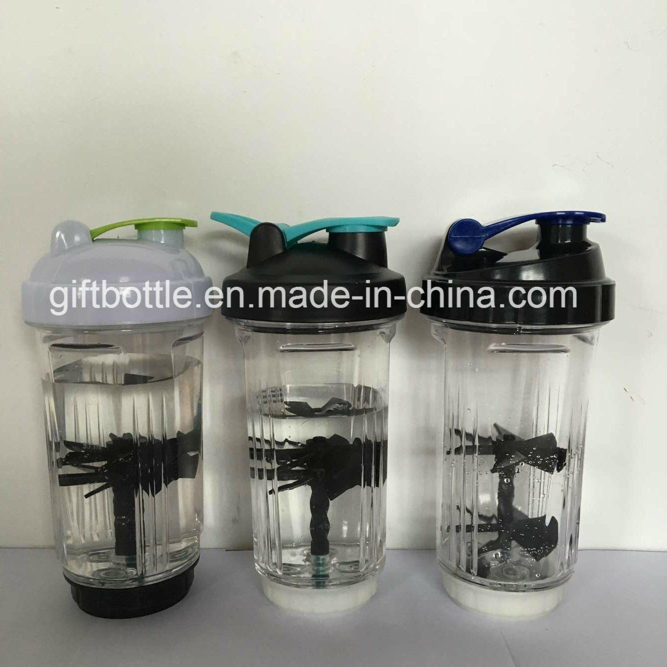 New Patented Custom BPA Free Protein Shaker Bottle 500ml