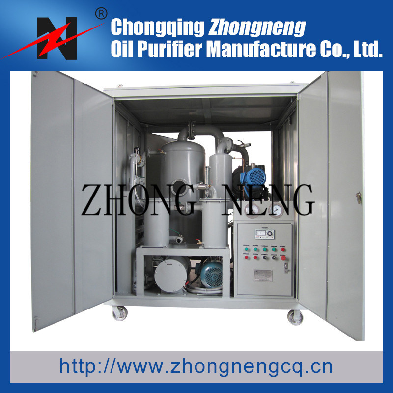 Mobile Waste Transformer/Insulating Oil Regeneration/Purifier/Filtration/Recycling (Series-ZYD-T)