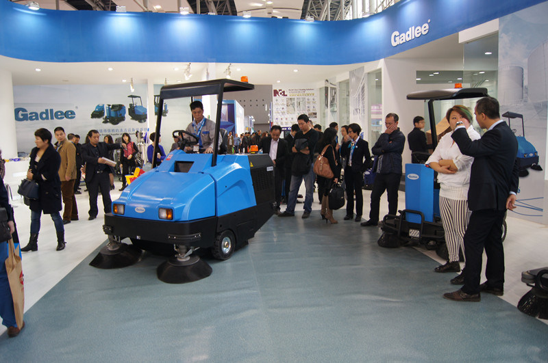 Gadlee Ce Full Hydraulic Ride-on Sweeper (GTS1460)