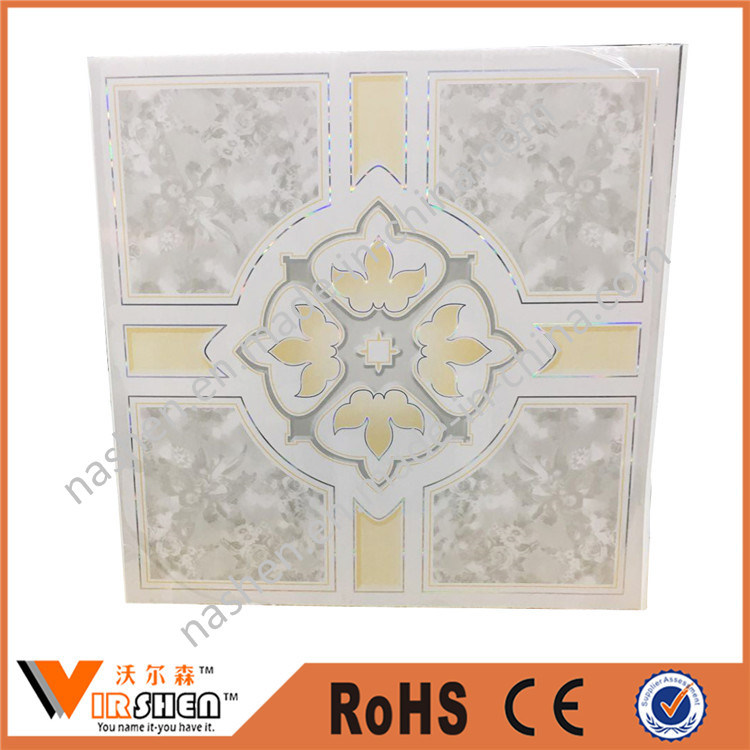 Manufcturer PVC Panel for Ceiling Tiles Decoration