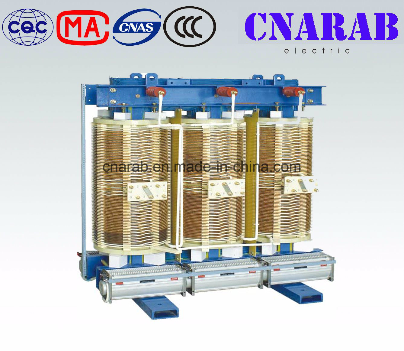Non-Encapsulated Coil Dry Type Power Transformer (SG(B)10)