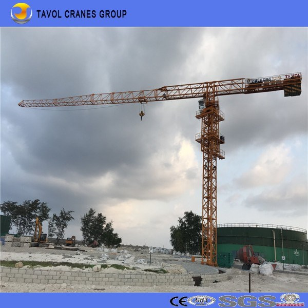 Topless Tower Crane 5610 Model Hot Sale