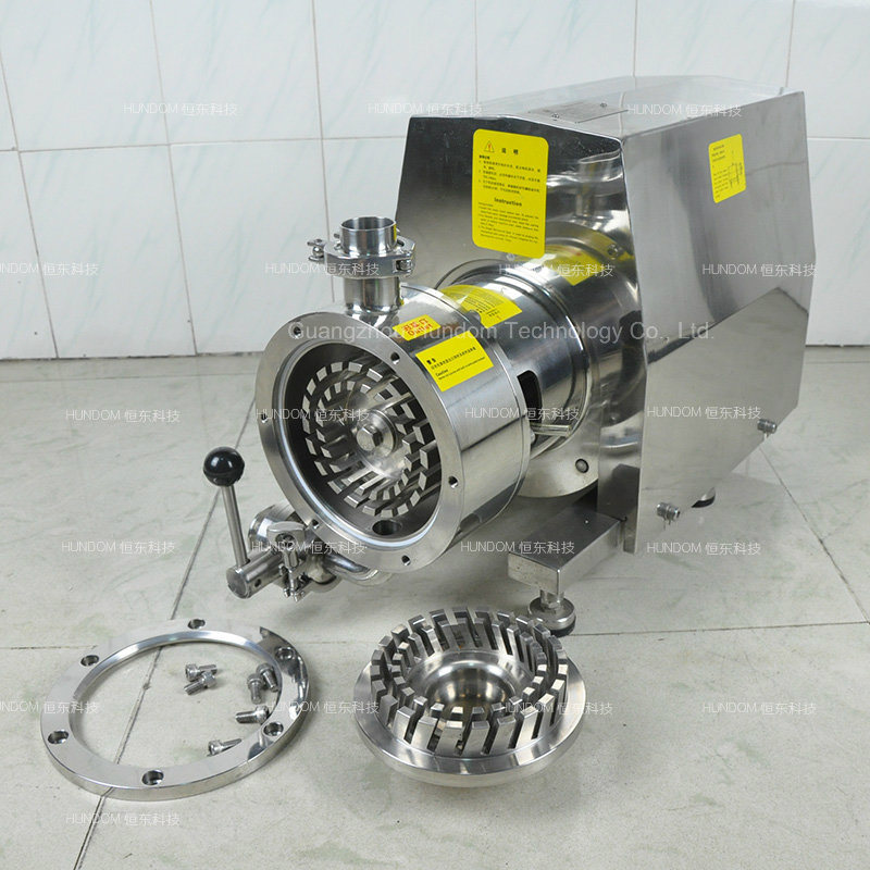 Stainless Steel Moveable Emulsion Pump for Liquid