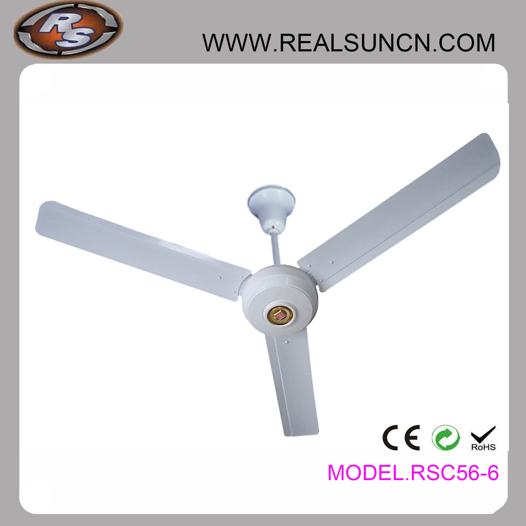 AC 56inch Ceiling Fan with Factory Price Selling Directly