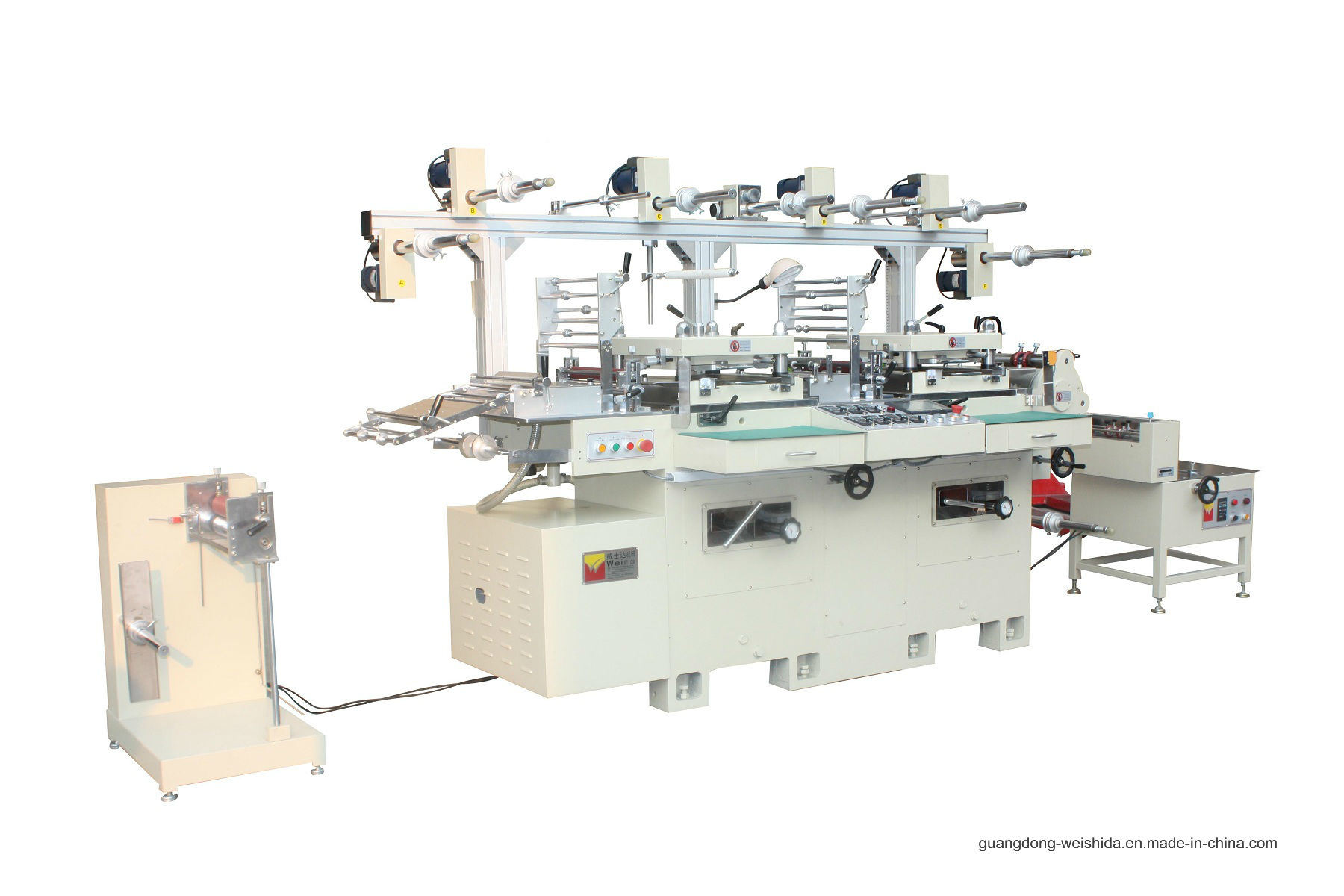 Wb350 Automatic Two Seater Die Cutting Machine