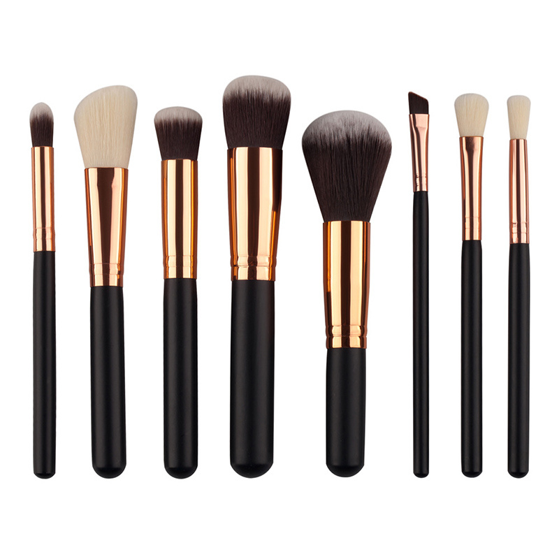 New Hot Sale 8PCS Makeup Brush Set Private Label Accept